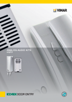 بروشور محصولات درب بازکن صوتی